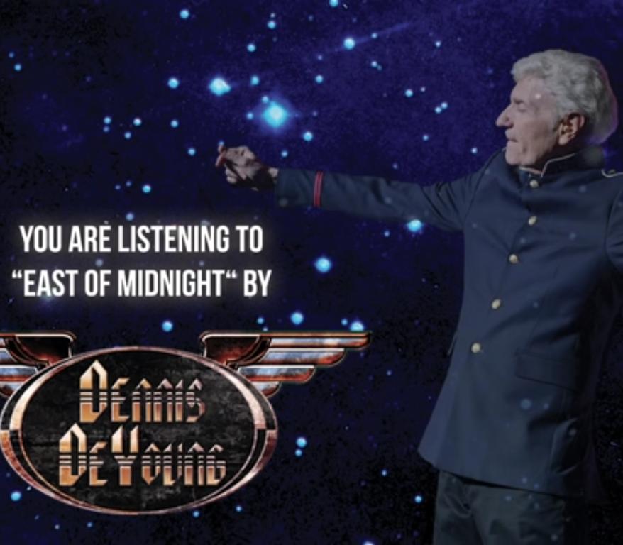 """DENNIS DEYOUNG: """"East of Midnight"""" – klarer Styx-Sound"""