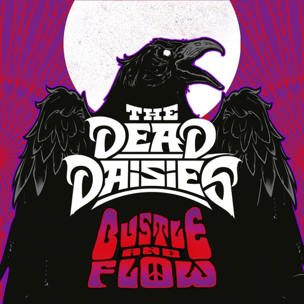 """THE DEAD DAISIES: """"Bustle And Flow"""" – Animated Music Experience Video"""