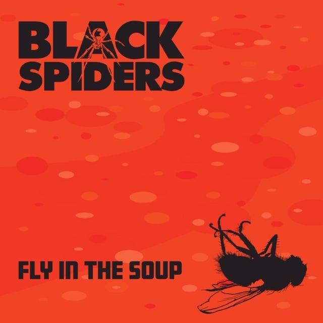 """Black Spiders """"Fly In The Soup"""""""