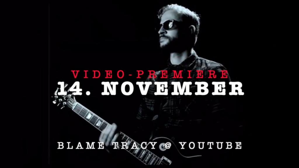 """BLAME TRACY: Video Premiere zu """"Whiplash"""" am 14.11.2020 um 12 Uhr"""
