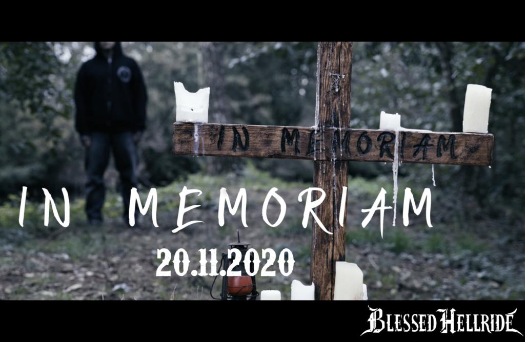 """BLESSED HELLRIDE: Neue Single """"In Memorian"""" erscheint am 20.11.2020"""