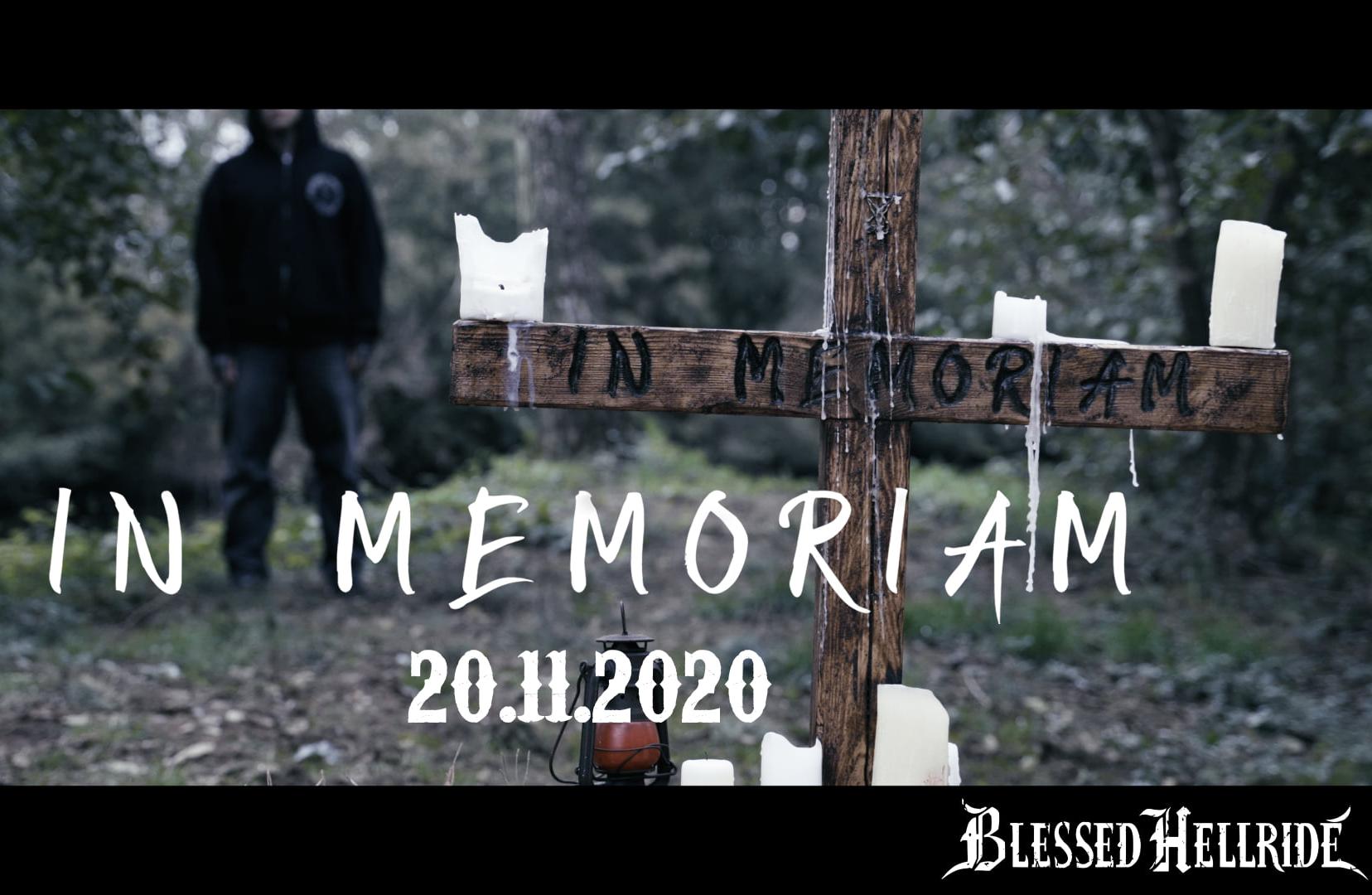 """Blessed Hellride """"In Memoriam"""""""