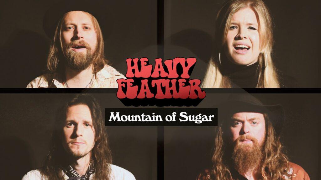 "HEAVY FEATHER: Neue Single ""Mountain Of Sugar"""