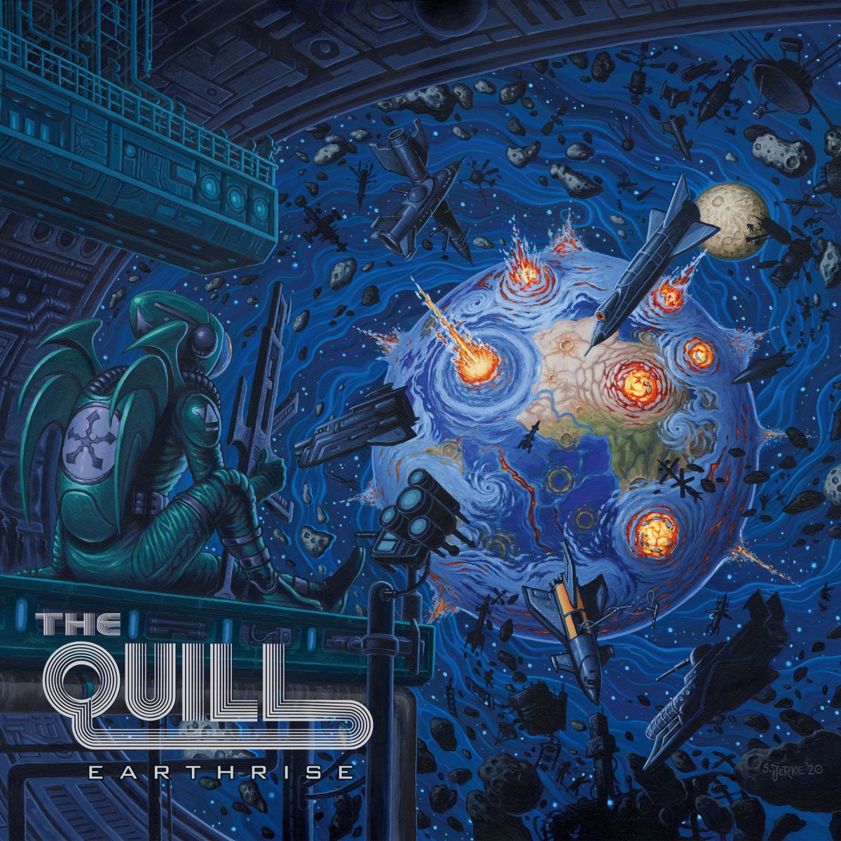 """The Quill """"Earthrise"""""""