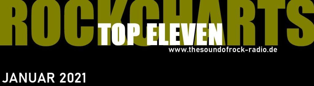 TOP ELEVEN ROCKCHARTS   Januar 2021
