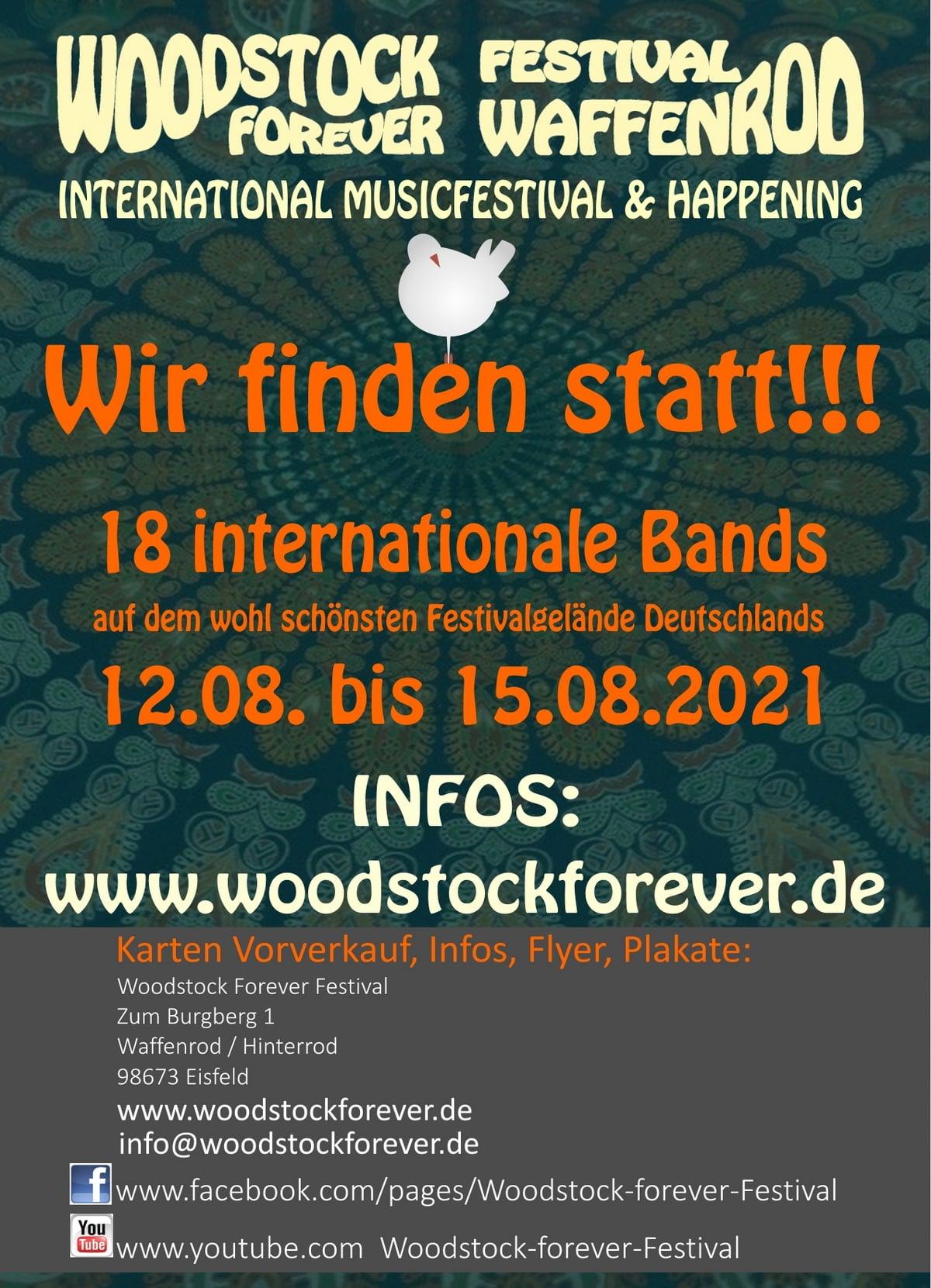 Woodstock Forever Festival 2021