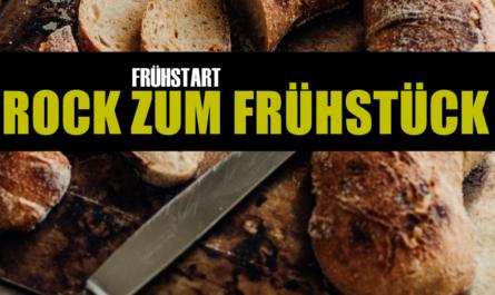 FRÜHSTART: Rock zum Frühstück +++ Neu in der Rotation bei THE SOUND OF ROCK RADIO