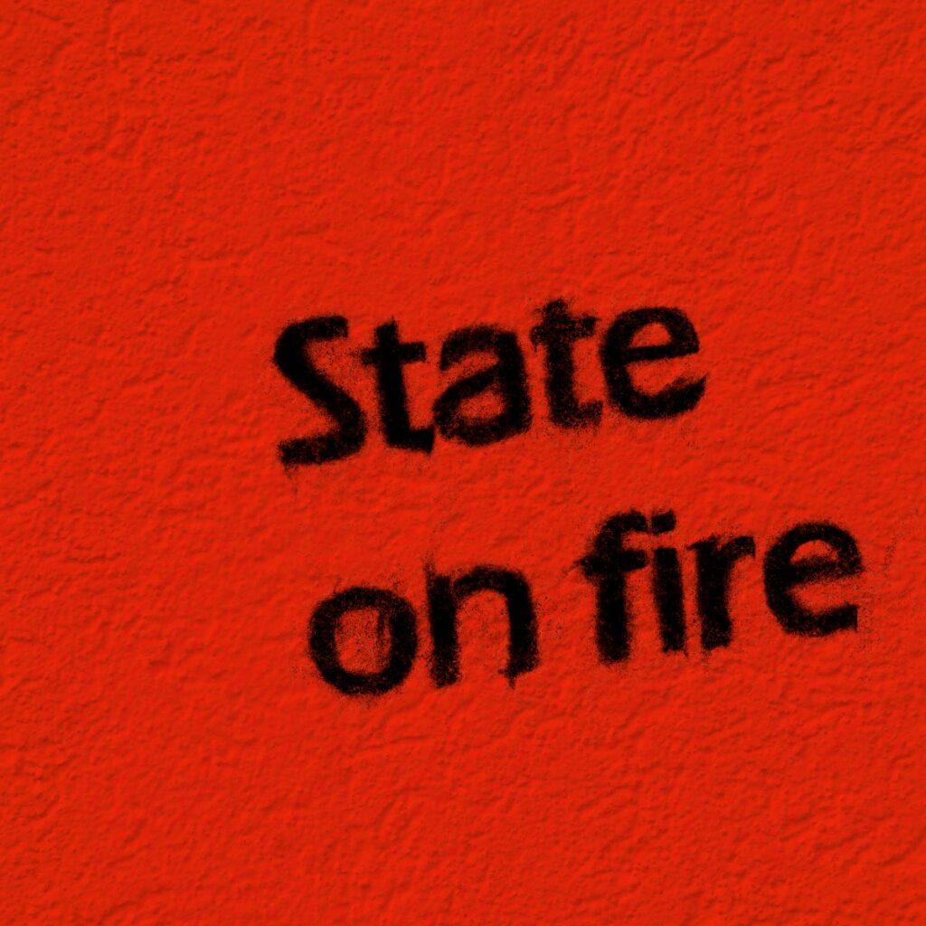 "FLYING PENGUIN: ""State On Fire"" – ernste Thematik in einem freudig erregenden Soundgewand"
