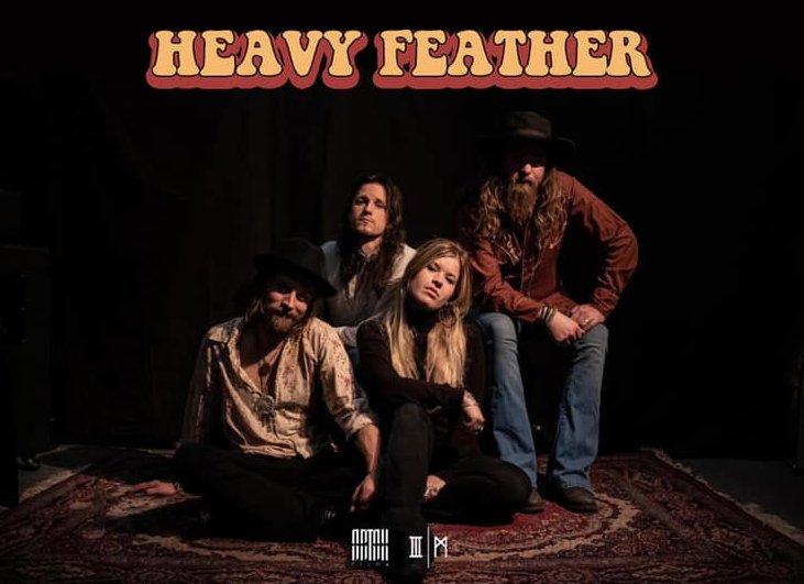 """HEAVY FEATHER: Stream Konzert zum neuen Album """"Mountain Of Sugar"""""""