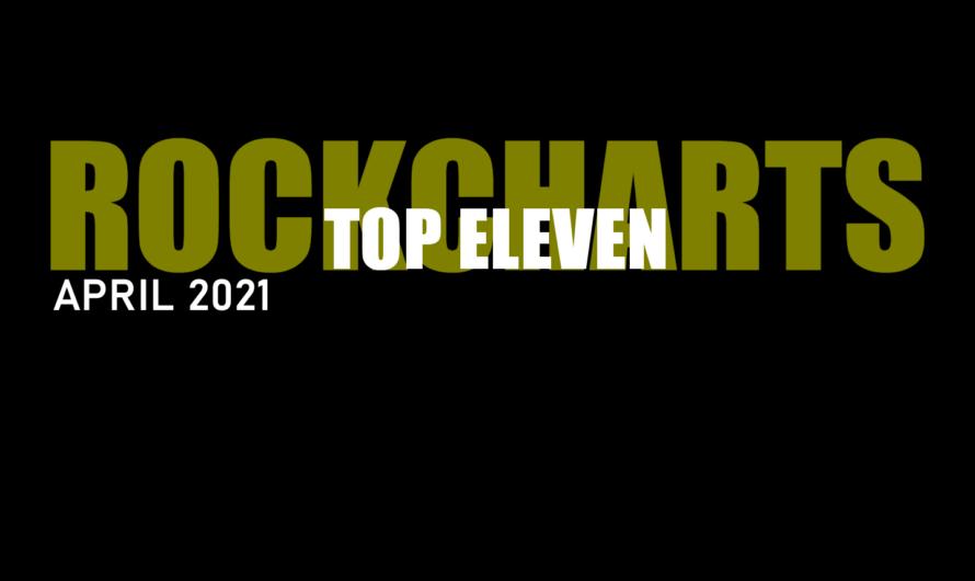 TWENTYDARKSEVEN macht das Rennen: TOP ELEVEN ROCKCHARTS im April 2021 by THE SOUND OF ROCK RADIO