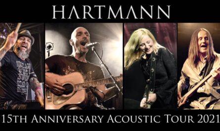 """Hartmann """"15th Anniversary Acoustic Tour 2021"""""""