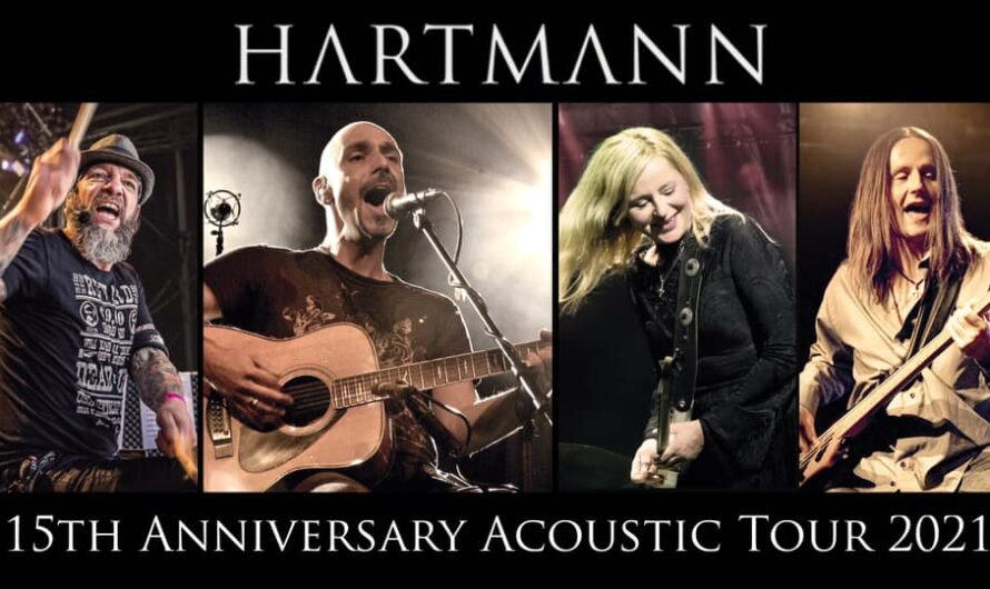 HARTMANN: 15th Anniversary Acoustic Tour 2021 – endlich wieder Live
